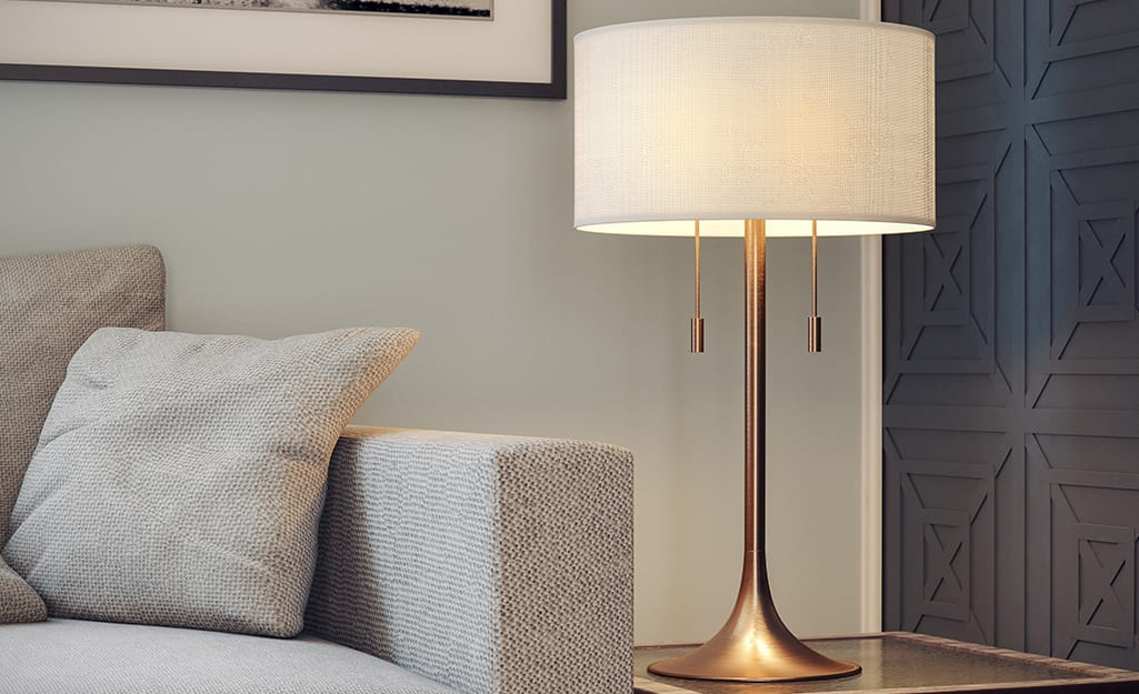 Types Of Lamps For The Living Room And More Home Depot