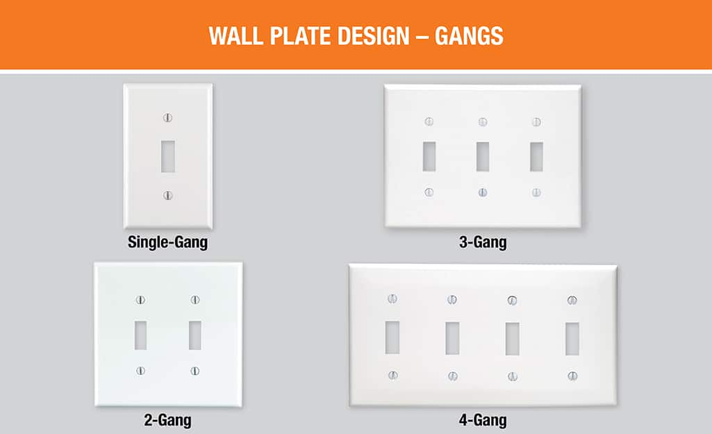 Types Of Wall Plates The Home Depot