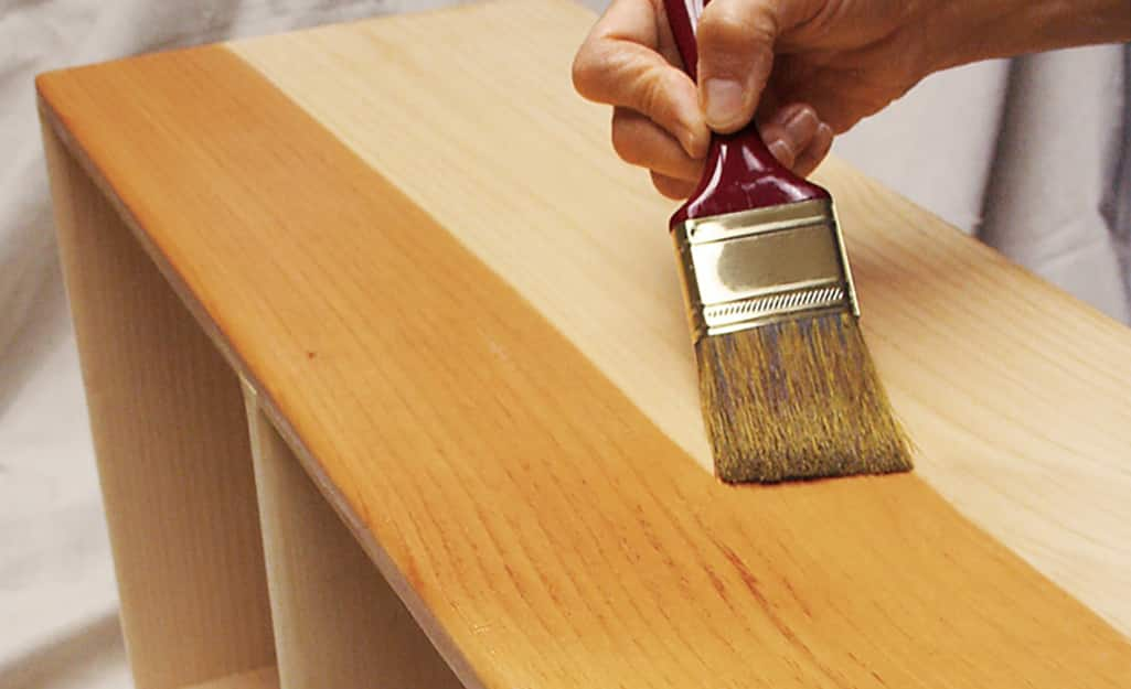 Types Of Wood Finishes The Home Depot, Best Wood Furniture Sealer