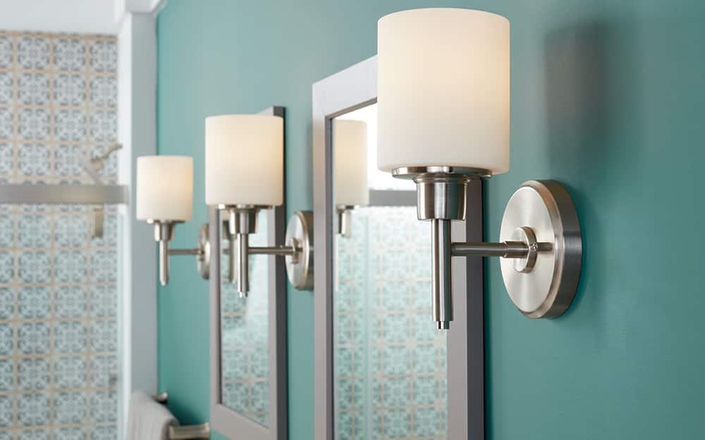 Vanity Lighting Ideas The Home Depot