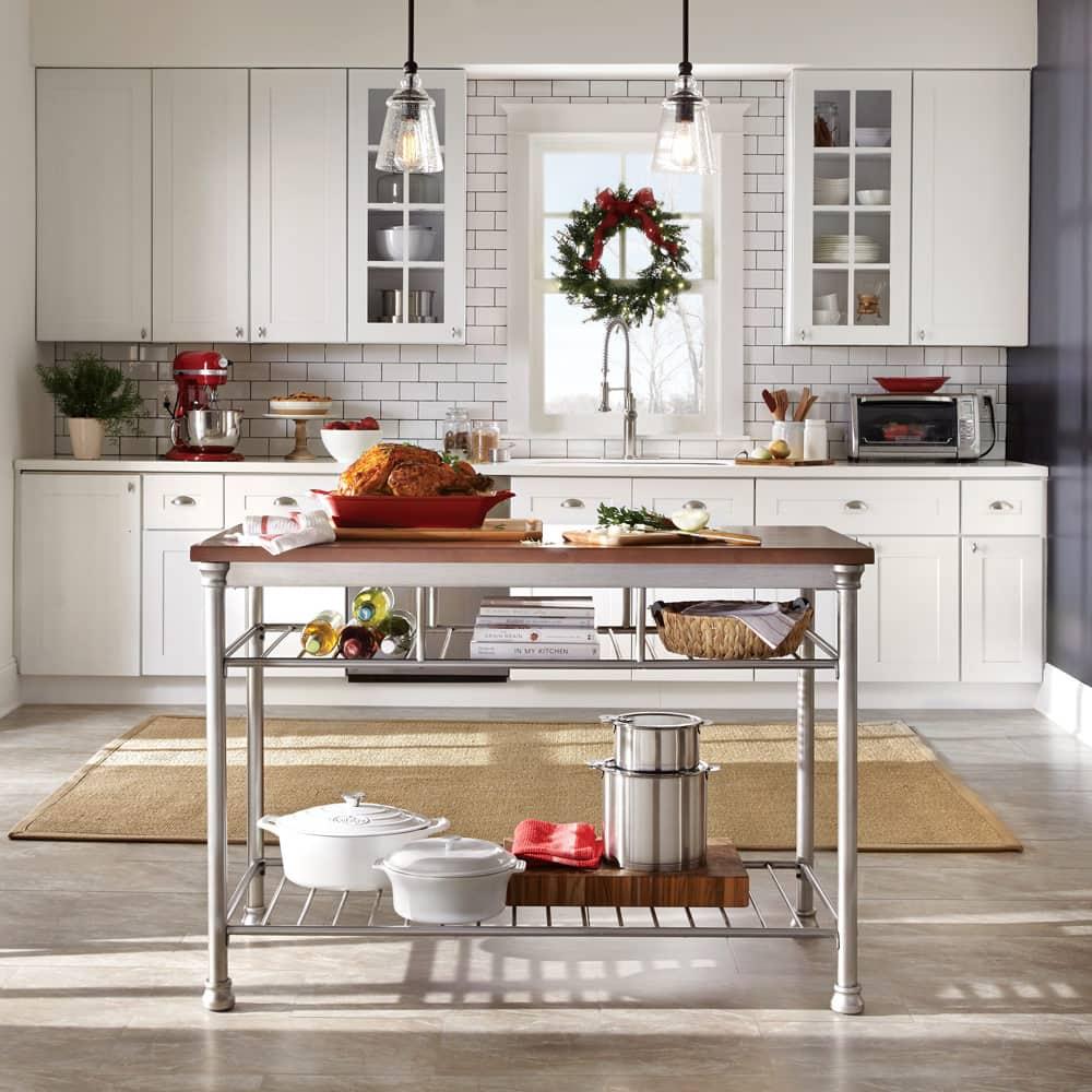 Winter Retreat Kitchen