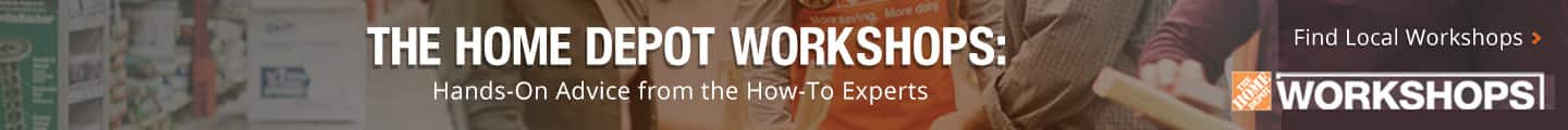 Find Local Home Depot Workshops in Your Area