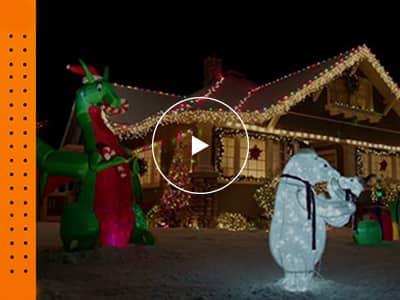 Hot to Hang Outdoor Christmas Lights