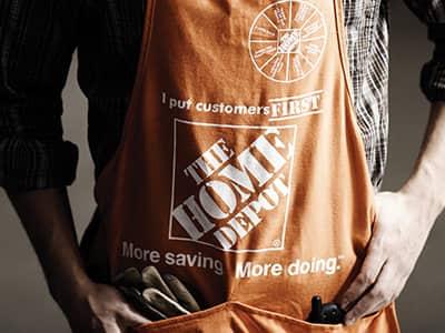 Home Depot Associate Apron