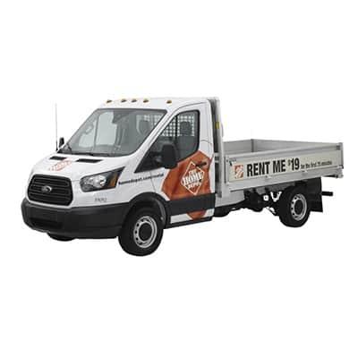 T250 Flatbed Truck Rental