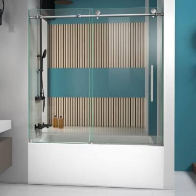 Frameless Bathtub Doors