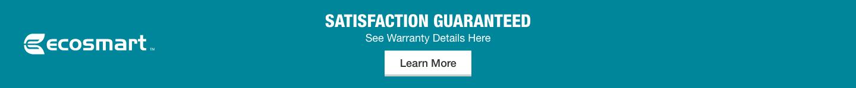 Satisfaction Guaranteed. See Warranty Details Here