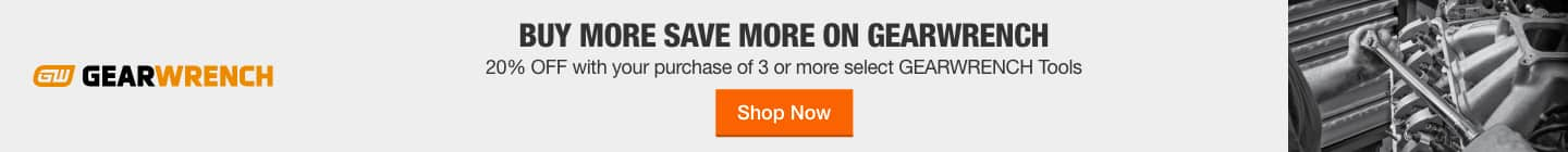 Buy More Save More On Gearwrench