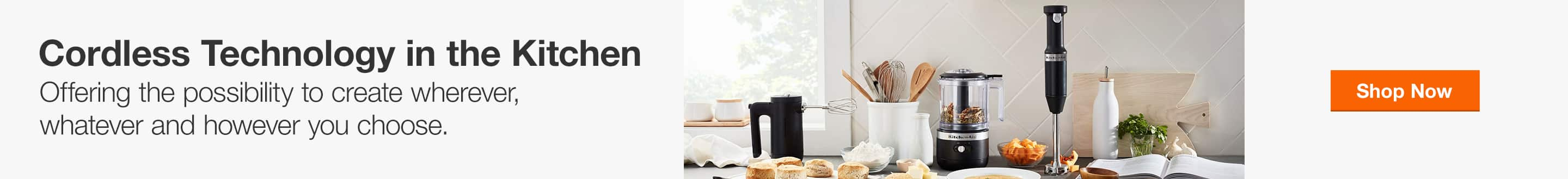 Shop Cordless Technology in the Kitchen