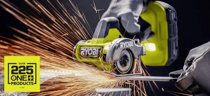 RYOBI ONE+ 18V POWER TOOLS