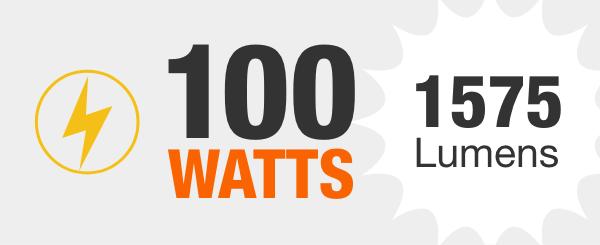 100-Watt Equivalent Light Bulbs