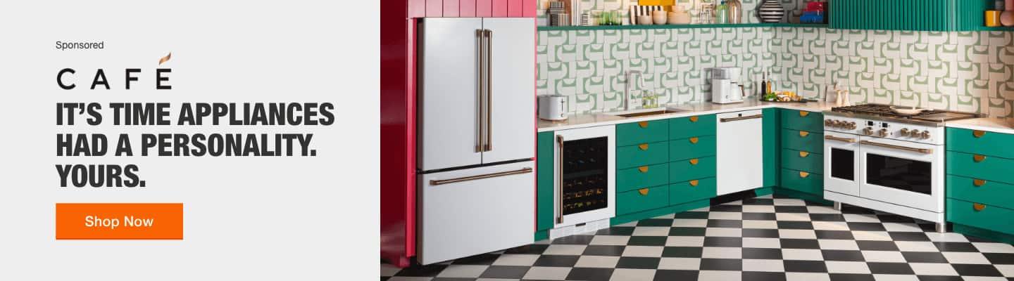 IT'S TIME APPLIANCES HAD A PERSONALITY. YOURS. Shop now.