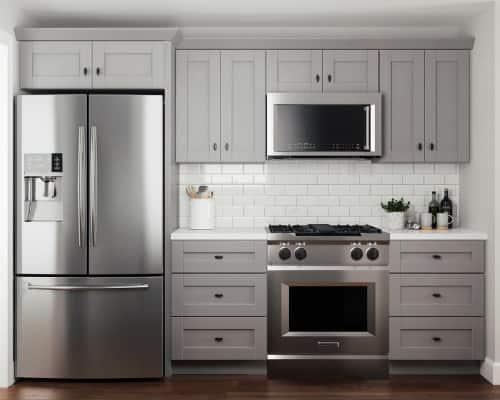 Contractor Express Washington Veiled Gray Cabinets