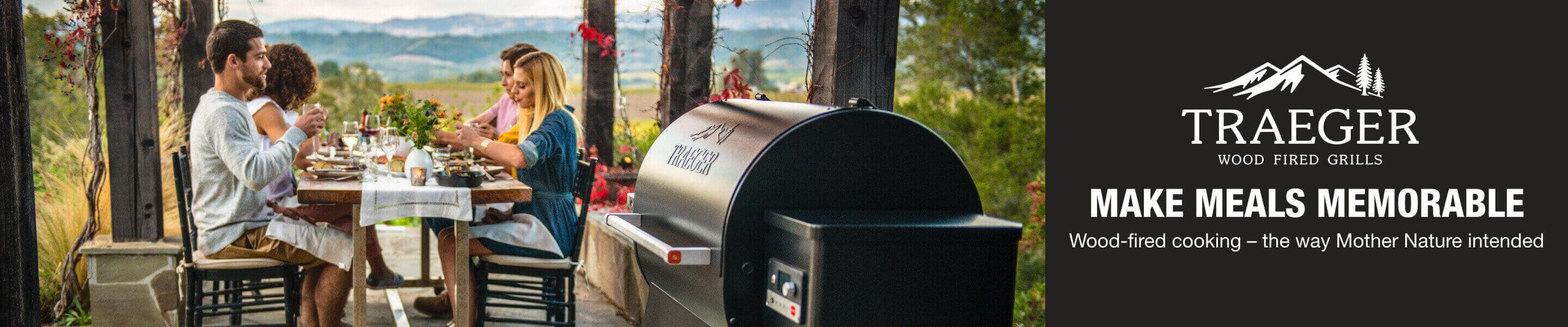 Make Meals Memorable. Wood-fired cooking – the way Mother Nature intended