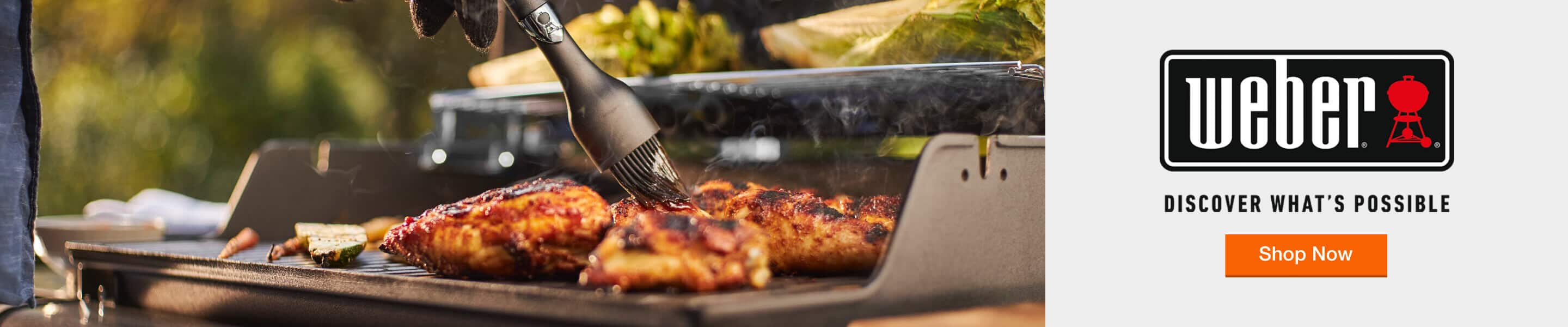 Weber - Discover What's Possible. Shop Now