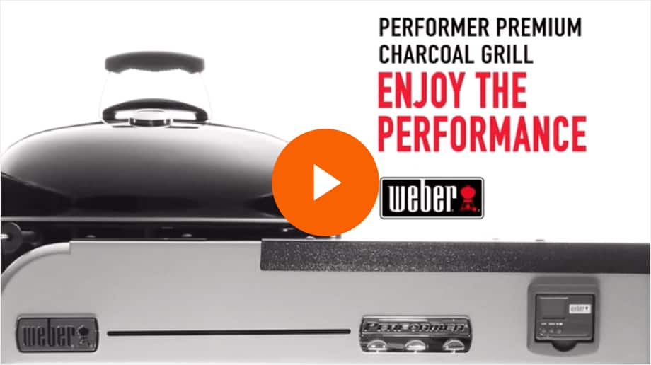 Weber Performer Deluxe Charcoal Grill Video