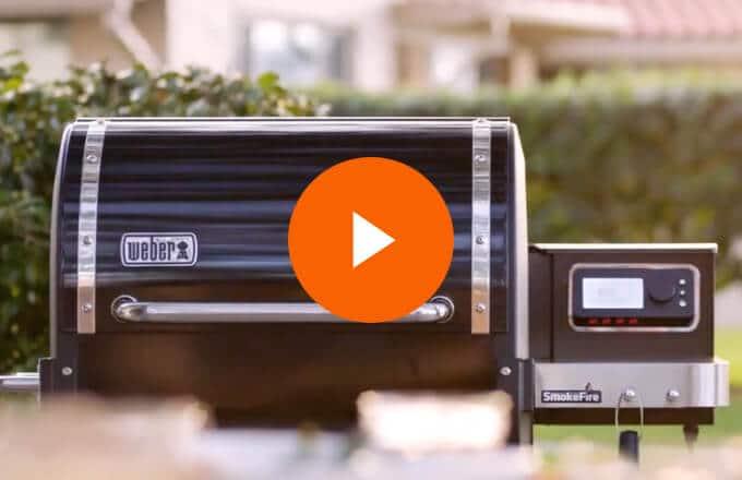 Weber SmokeFire Pellet Grill Video