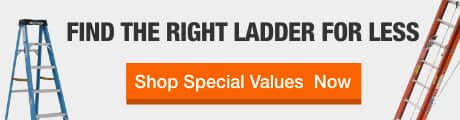New Lower Prices on Select Ladders Now Available in Your Local Store.