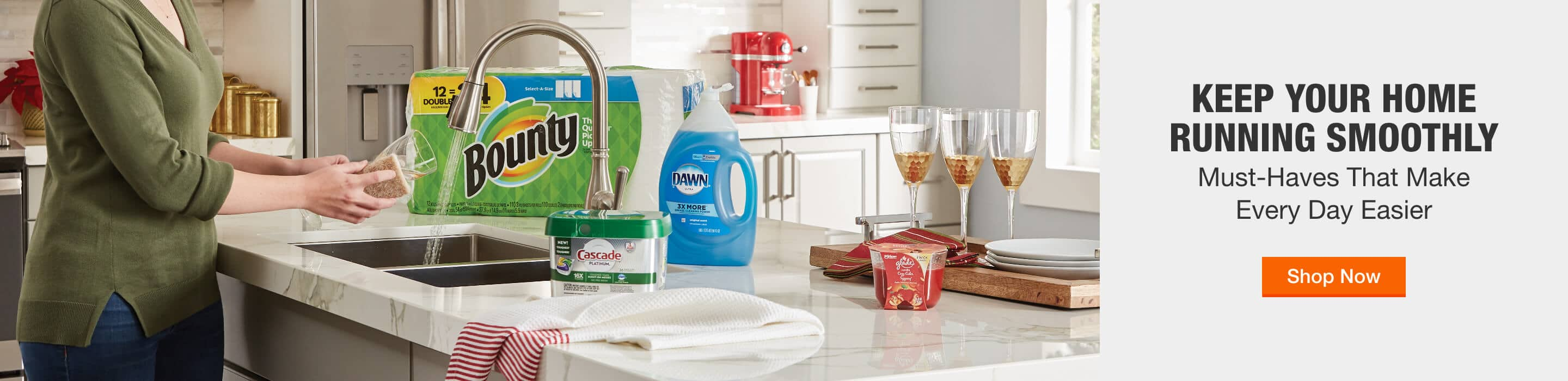 KEEP YOUR HOME RUNNING SMOOTHLY Must-Haves That Make Every Day Easier Shop Now