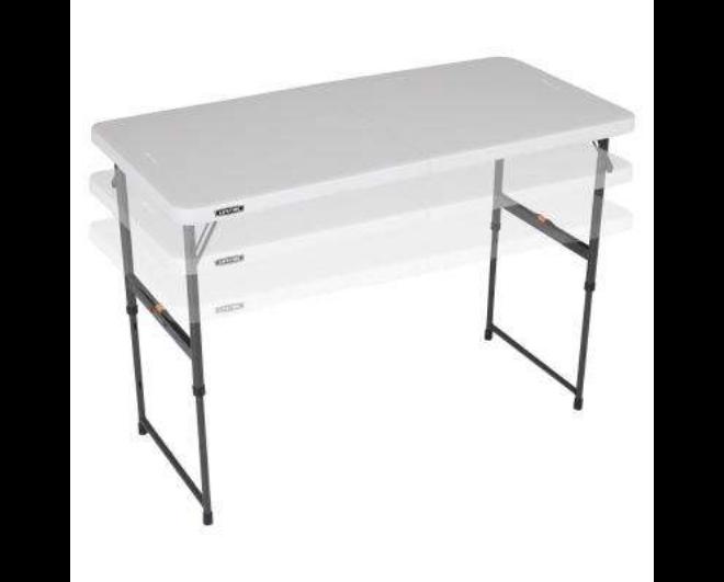 Adjustable Folding Tables