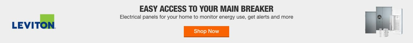 Easy Access to Your Main Breaker Electrical panels for your home to monitor energy use, get alerts and more