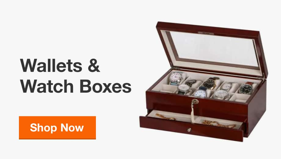 Wallets & Watch Boxes