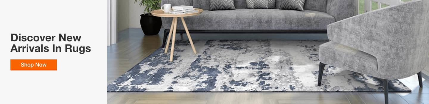 Discover New Arrivals in rugs
