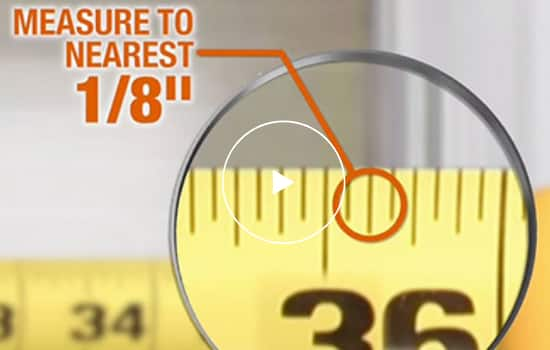 """Measure to the nearest 1/8"""""""