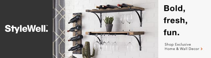 Shop Exclusive StyleWell Home & Wall Decor Collections