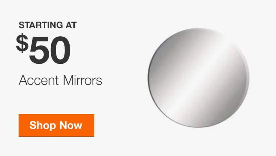 Accent Mirrors Starting at $50