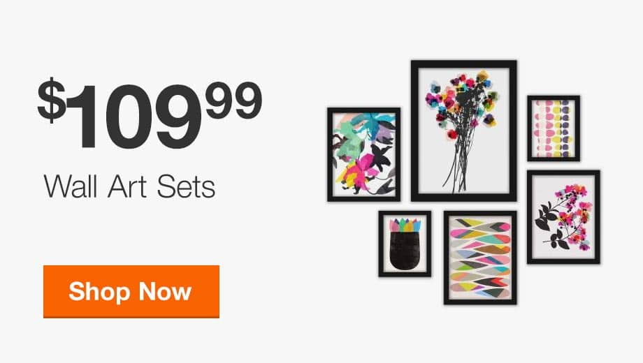 $109.99 Wall Art Sets