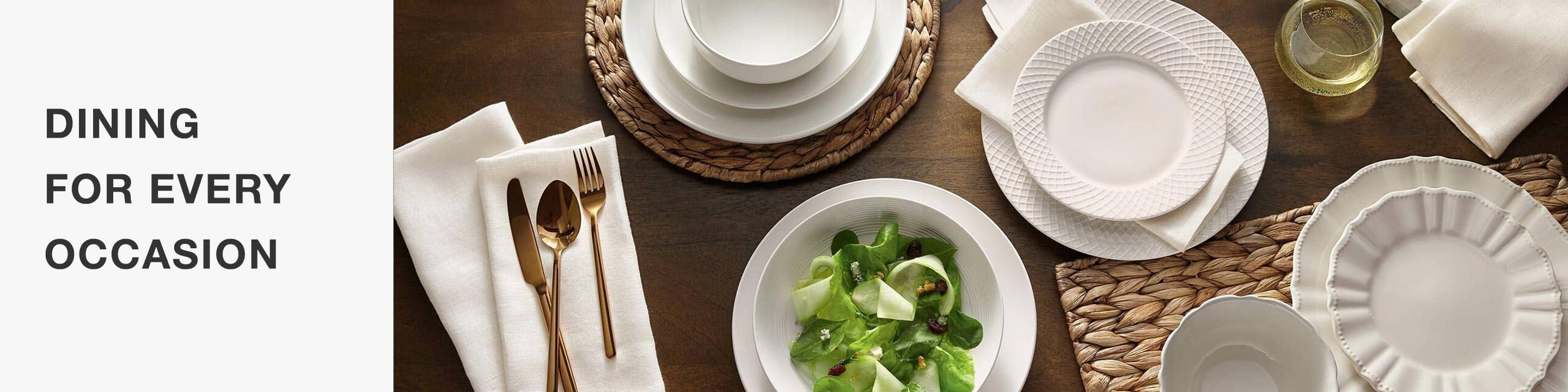 Dinnerware for all your needs