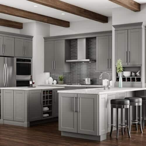 gray & neutral cabinet collection