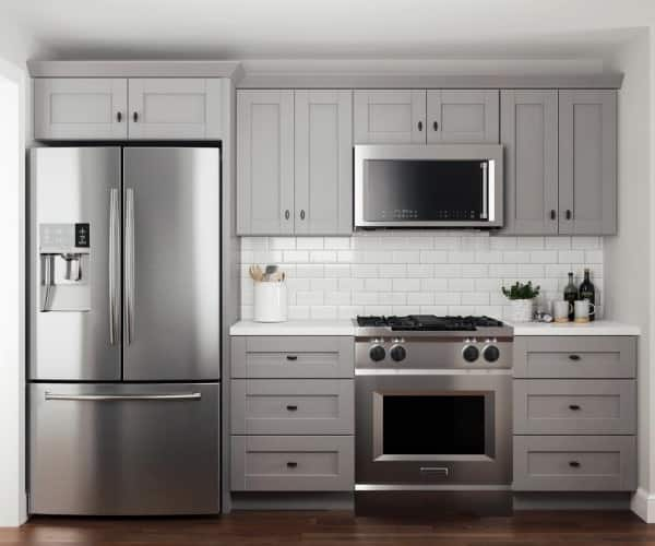 Contractor Express Veiled Gray Cabinets