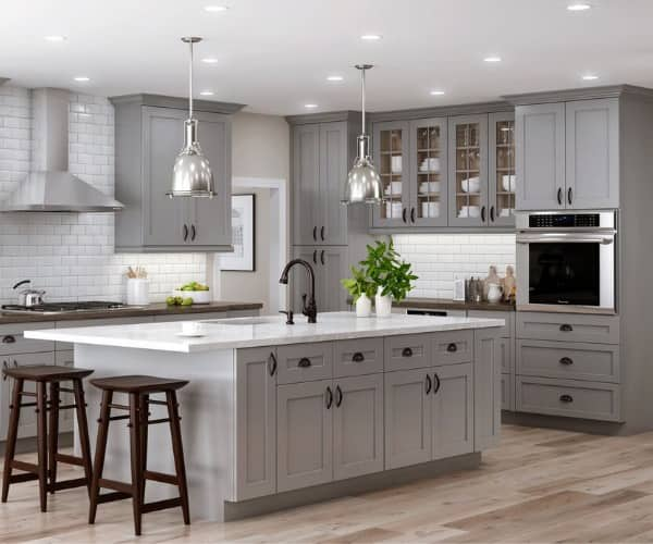 Gray Kitchen Cabinets The, Kitchen Cabinet Cost Home Depot