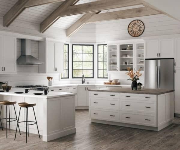 Home Decorators Collection Newport Pacific White Cabinets