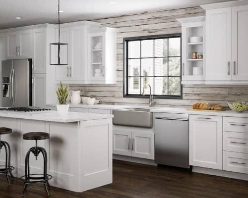 Home Decorators Collection Newport White Cabinets