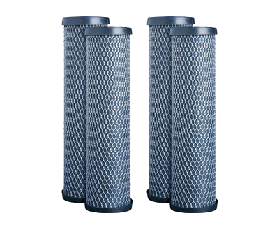 Whole house system filtration