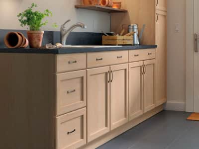 Hampton Bay Easthaven Frameless Unfinished Cabinets