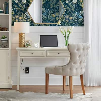 Earthy Cottage Home Office
