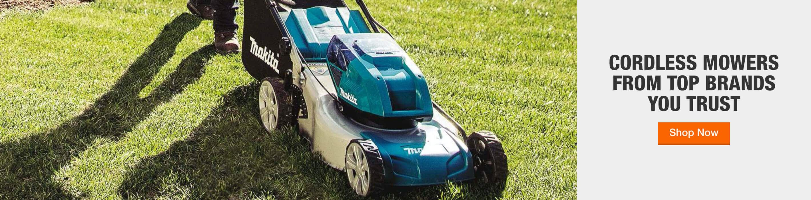 CORDLESS MOWERS FROM TOP BRANDS YOU TRUST Shop Now