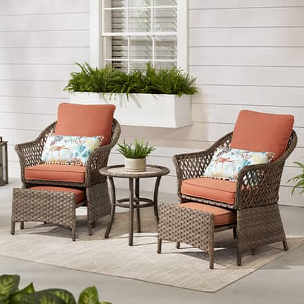 Outdoor Lounge Furniture Patio, Home Depot Outdoor
