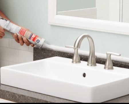 Kitchen Bathroom Caulk Caulk Sealants The Home Depot