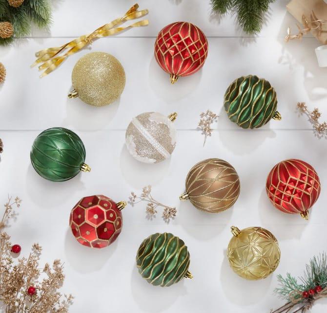 Multi-Color Christmas Decorations