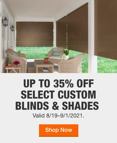 Outdoor Shades The Home Depot, How To Make A Roll Up Patio Shade