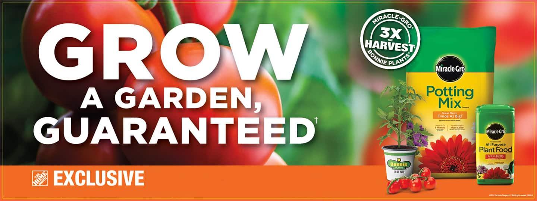 Grow a garden guaranteed