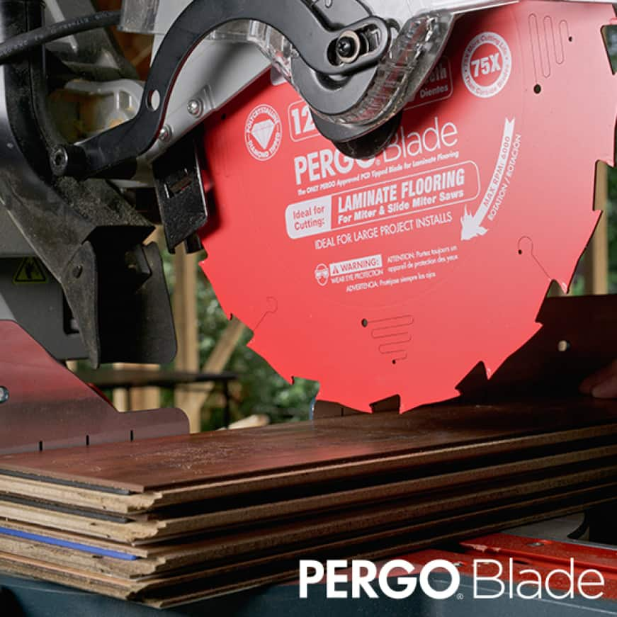 This is a lifestyle image of the Pergo Blade