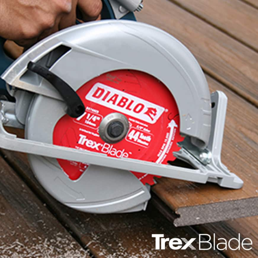 This is a lifestyle image of the Trex Blade