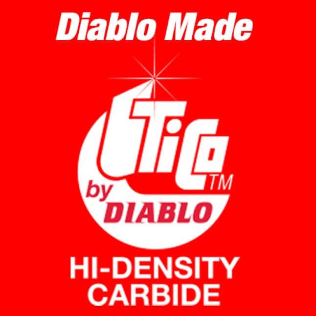 This is a Tico Hi Density Carbide Logo