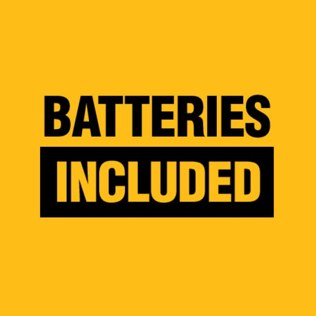 Kit includes 1 DCB230 2AH 20V MAX Battery and 1 20V MAX Charger
